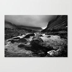 Capel Curig, Snowdonia, Wales. Canvas Print