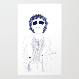 Randy Newman  Art Print