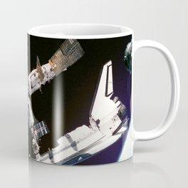 Space Shuttle Space Station Mir Dock Coffee Mug