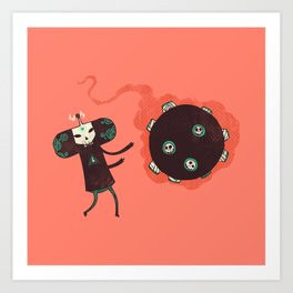 Katamari of the Dead Art Print
