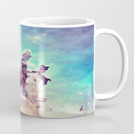 Pillars of Creation Aqua Cool Coffee Mug