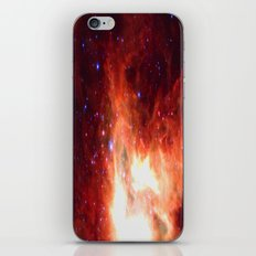 Burning Star iPhone & iPod Skin