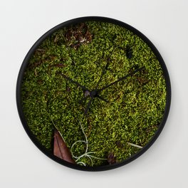 Mossy Plot Wall Clock