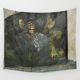 Overgrown. Wall Tapestry