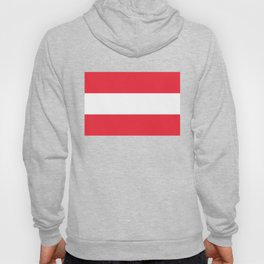 Austrian National flag - authentic version (High quality image) Hoody