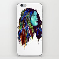 dreamer iPhone & iPod Skins featuring Dreamer by Peter Fulop