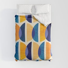 Night And Day Abstract / Geometric Pattern Comforters