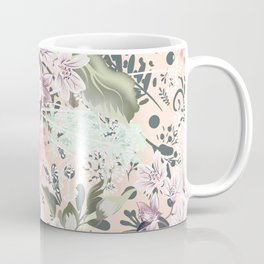 Spring vector illustration with flowers Coffee Mug