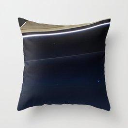 Pale Blue Dot — Cassini (2013) Throw Pillow