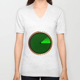 Detected Radar Unisex V-Neck