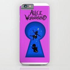 Alice In Wonderland - pink Slim Case iPhone 6s