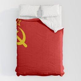 USSR Flag - Soviet Union Flag Comforters