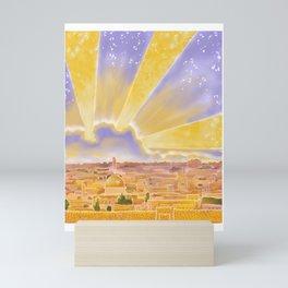 Jerusalem of Gold Mini Art Print