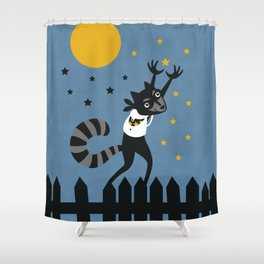 Star Thief Shower Curtain