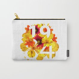 Flower 1984 Carry-All Pouch