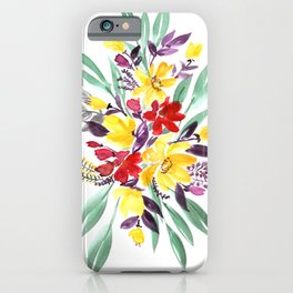 """Floral bouquet in fall colors """"Eloisse"""" iPhone Case"""