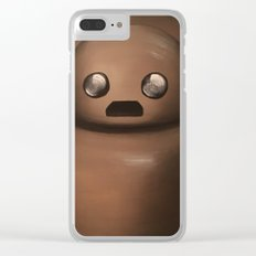 Herb the Portraitbot Clear iPhone Case