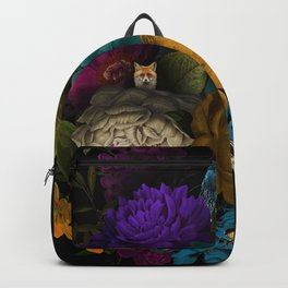 Foxy Florals Backpack