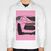 lamborghini Hoodies featuring Lamborghini Aventador by societystar