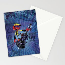 Münxis - Bass. The Twitch Doctors. Stationery Cards