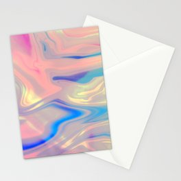 Holographic Dreams Stationery Cards