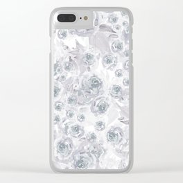 Bed of Roses Clear iPhone Case