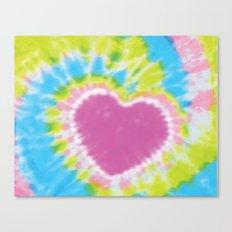 Love Tye Dye 2 Canvas Print