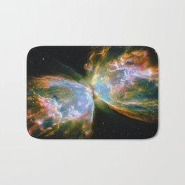 Butterfly Nebula Bath Mat