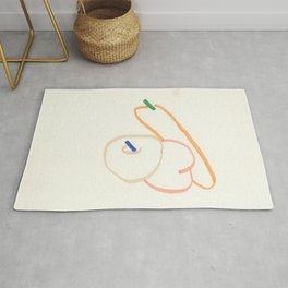 Fruit in my spring (Marker Drawing) Rug