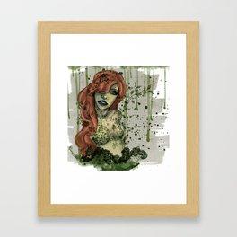 Poison Ivy v1 Framed Art Print