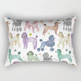 Poodles by Veronique de Jong Rectangular Pillow