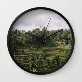 Bali Tegalalang II Wall Clock