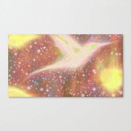 Set The Stars On Fire. Canvas Print