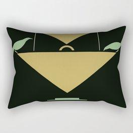 Stuttgart art expo: feed the birds Rectangular Pillow