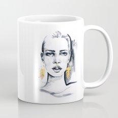 Golden leaf Mug