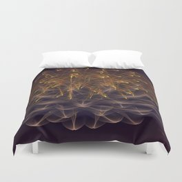The Explosion Duvet Cover
