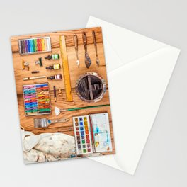 The Artist's Tools Stationery Cards
