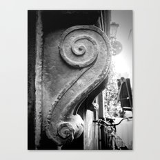 Italian Wall Scroll Canvas Print