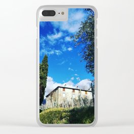 Just An Ordinary Sunny Day In Tuscany Clear iPhone Case