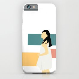 Get Back Stare iPhone Case