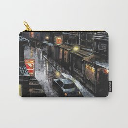 Rainy evening on the Downtown Carry-All Pouch