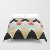 princess Duvet Covers featuring Princess by Elisabeth Fredriksson