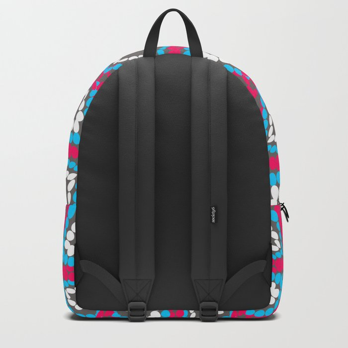 Floral beads Backpack