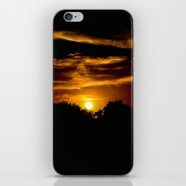 Darkening Glow iPhone Skin