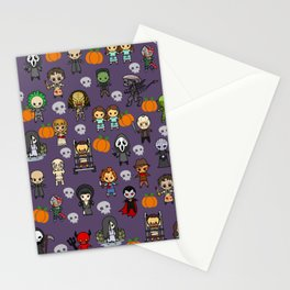 halloween horror special blanket Stationery Cards