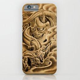 Hannya Dragon iPhone Case