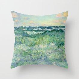 Marine, Pourville Throw Pillow