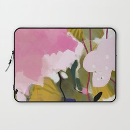 abstract jungle leaves Laptop Sleeve