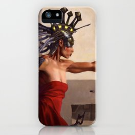 In the Country of the Blind iPhone Case