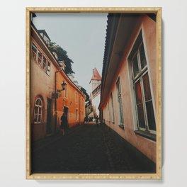 Tallinn Old Town  Serving Tray